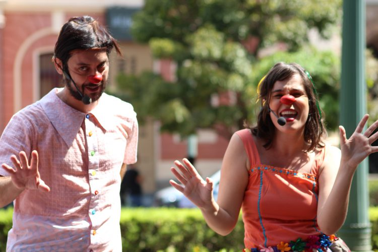 Espetaculo Na roda do grupo Maria Cutia. Luisa Monteiro/Divulgação