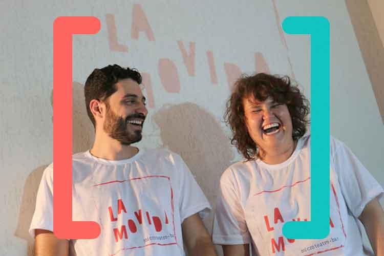 Guilherme Théo e Clarice Castanheira são os fundadores do La Movida em BH. Foto: Arthur Misson