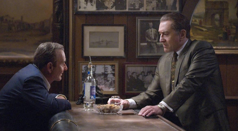Joe Pesci e Robert De Niro em O Irlandês. Foto: Netflix/Divulgação