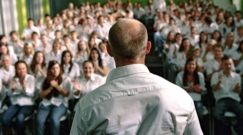 fascismo Cena do filme A onda. Crédito: Constantin Film e Highlight Film