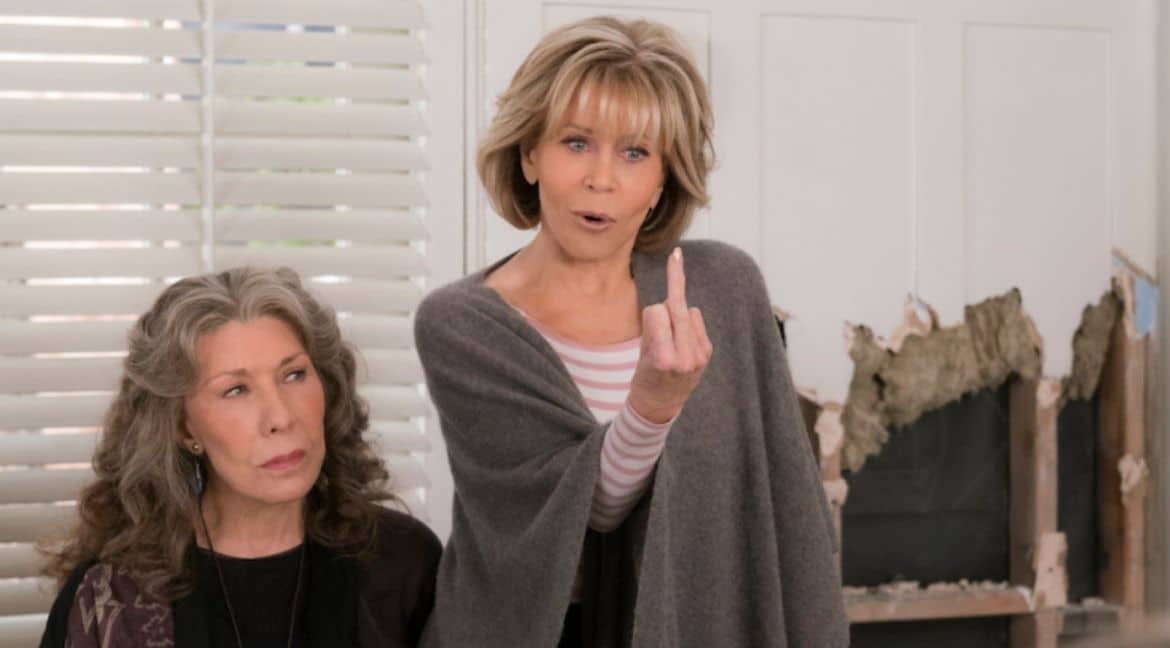 Séries para relaxar - Grace and Frankie/Netflix