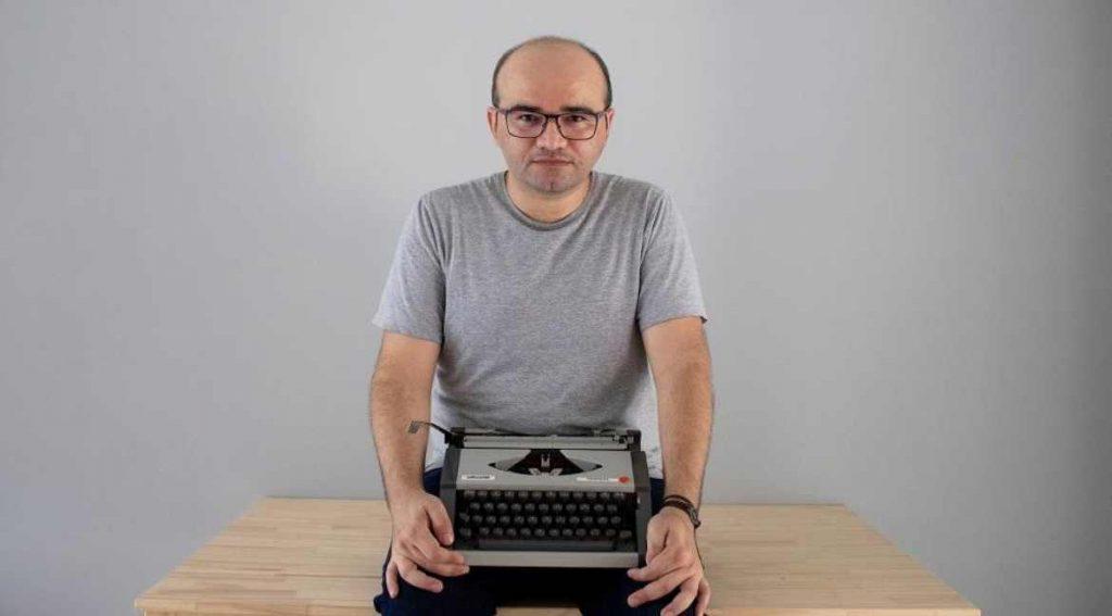 Stenio Gardel autor de A palavra que resta.Foto Fernanda Oliveira