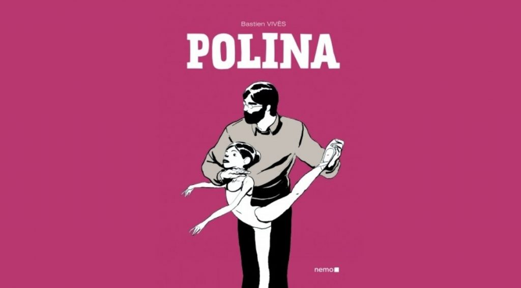 Capa de Polina. Foto: Editora Nemo/Reprodução