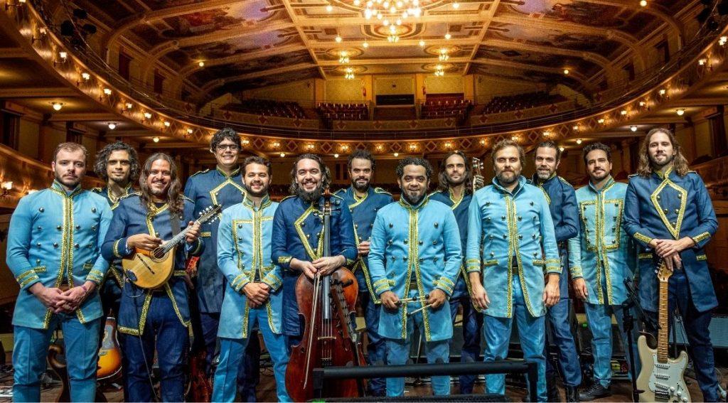 Orquestra mineira de rock