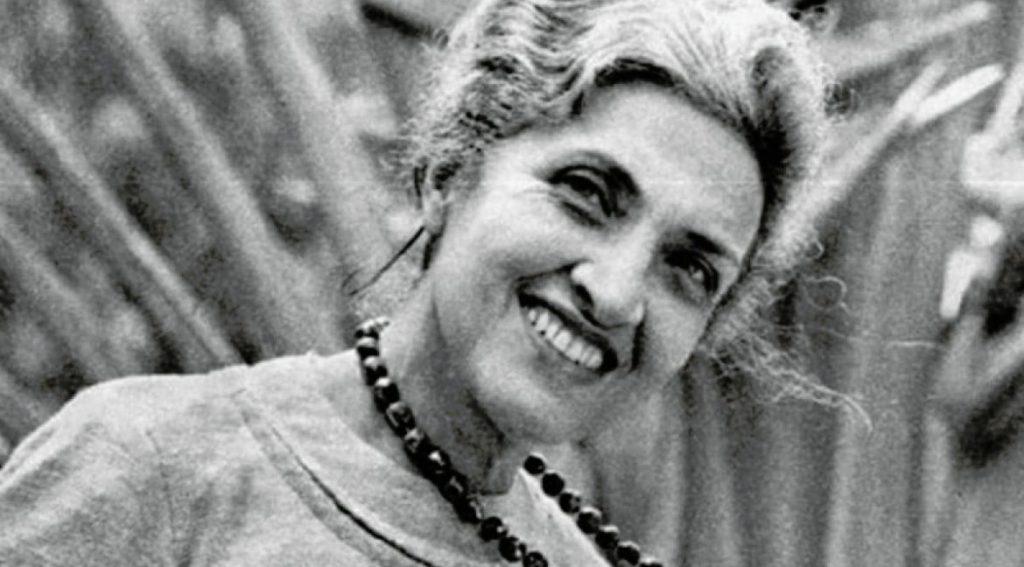 A poeta Cecilia Meireles. Foto: Folhapress