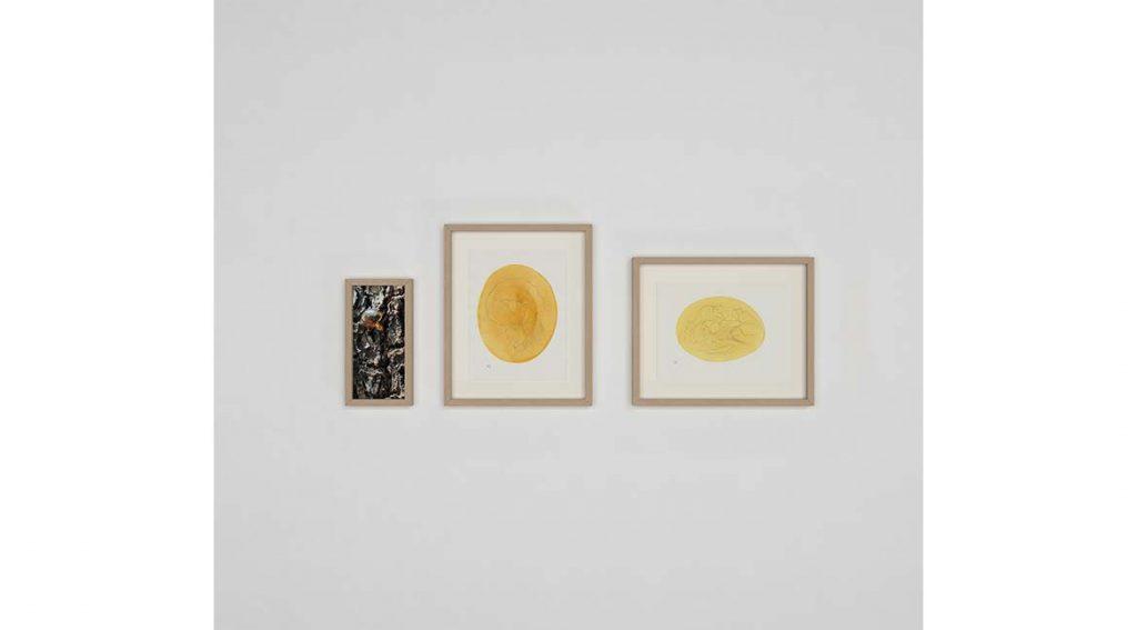 Composição Ambar está na exposição de Shiiti. Foto: Eduardo Shiiti