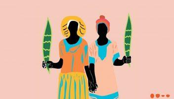 Ilustração da capa de Torto Arado, de Linoca Souza. Crédito: Linoca Souza/Todavia