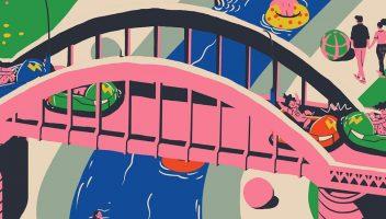 BH: A cidade Fantástica. Ilustração de Paulo Marcelo Oz