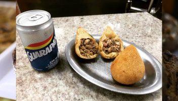 Coxinha de lombo - Café Palhares/Reprodução Facebook