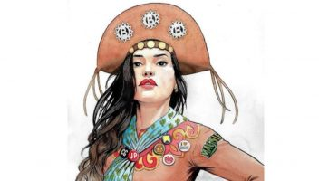 Juliette na arte de @chicoshiko. Foto: Reprodução autorizada @chicoshiko